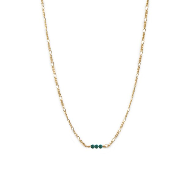 Able Serendipity Necklace Turquoise / Gold