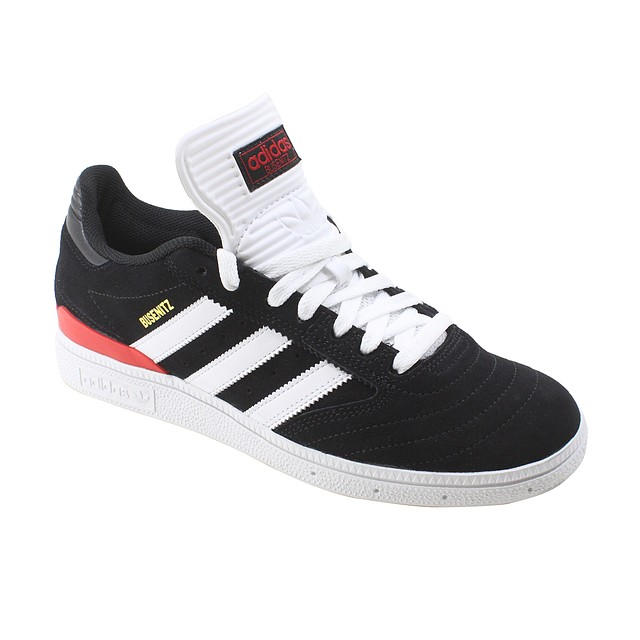 Adidas Busenitz Pro Core Black/ Cloud White/ Scarlet