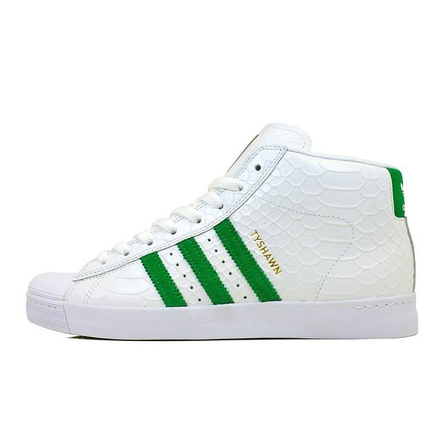 Adidas Pro Model Vulc ADV Running White/ Green/ Running White