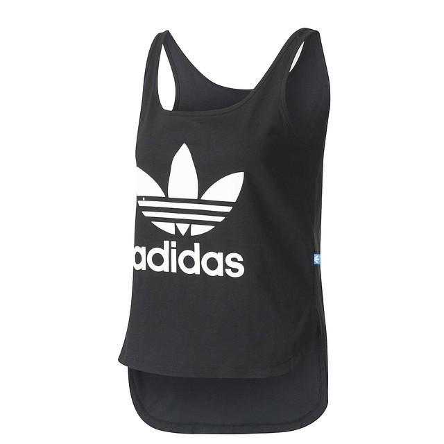 Adidas Trefoil Crop Black