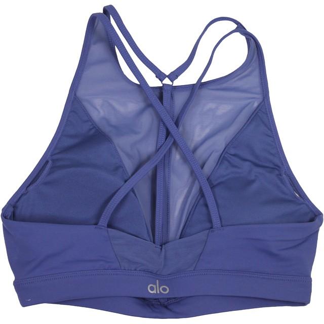 Alo Yoga Empower Bra Cobalt
