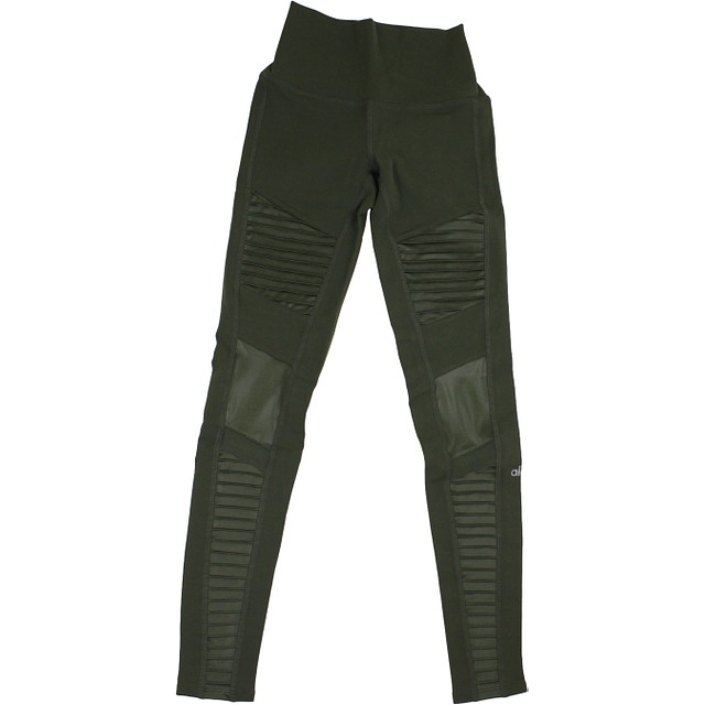 Alo Yoga High Waist Moto Hunter / Hunter Glossy