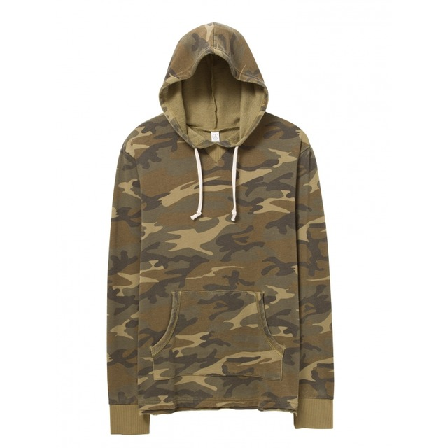 Alternative Apparel School Yard Hoodie Camo