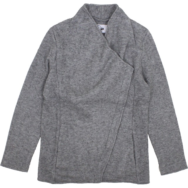 BB Dakota Downtown Zip Up Heather Grey
