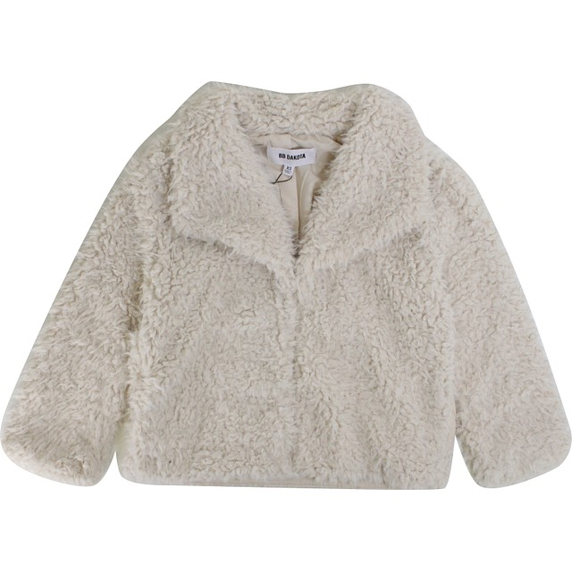 BB Dakota Hugs Don't Lie Faux Fur Ivory