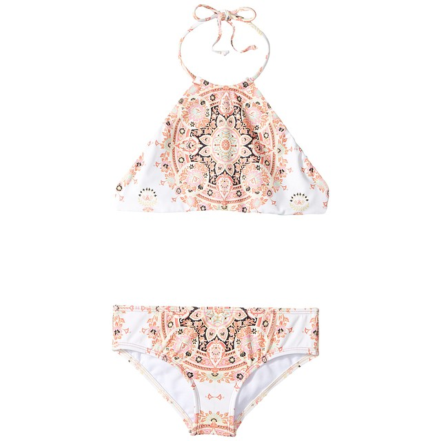 Billabong Groovy Luv Hi Neck Bikini Multi