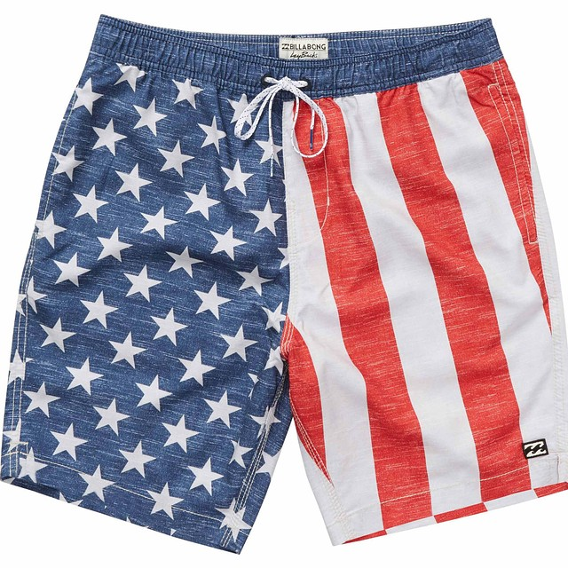 Billabong Layback OG Red/White