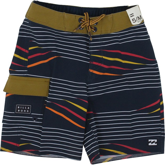 Billabong Sundays X Stripe Boardshorts Navy