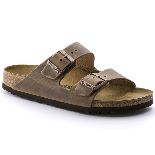 Birkenstock Arizona Tobacco Oil Leather