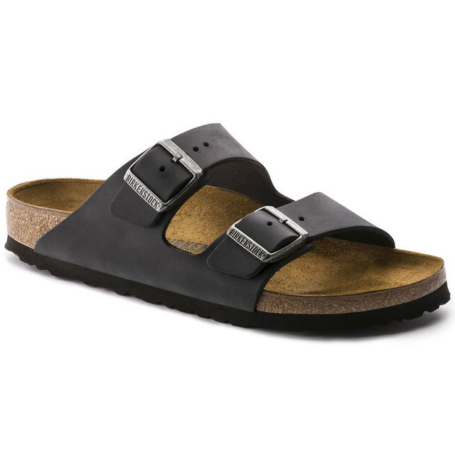 Birkenstock W's Arizona Black Oiled Leather