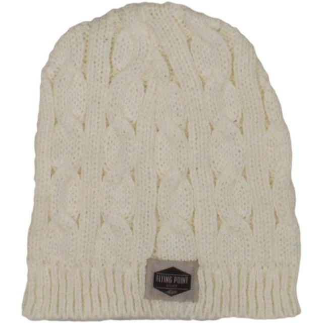 Flying Point Classic Cable Knit Natural