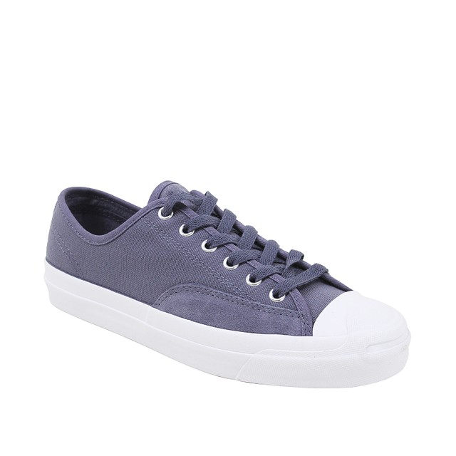 Converse Jack Purcell Pro OX Light Carbon / White