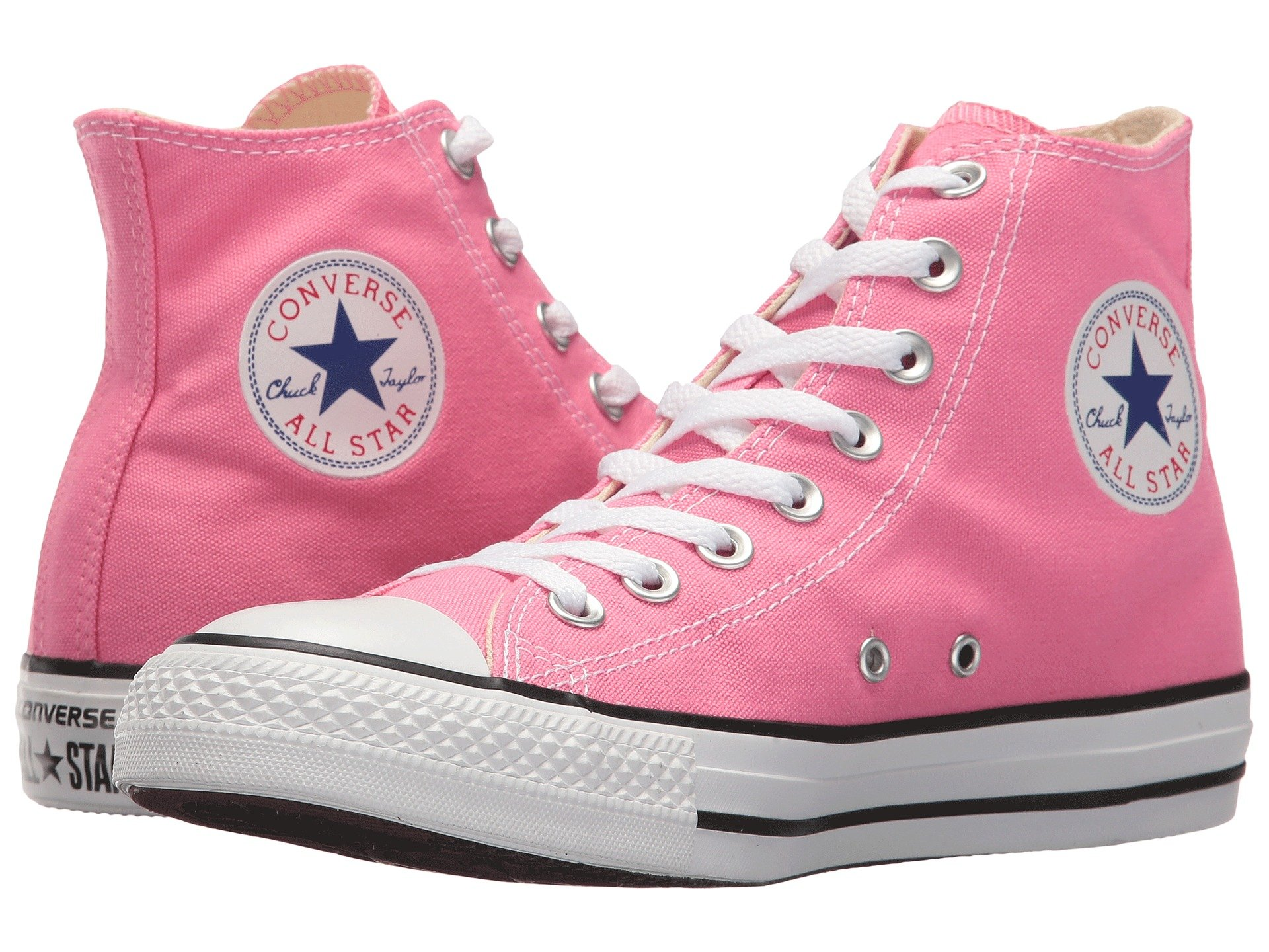 Converse Damenschuhe Chuck Taylor All Star Core Hi Sneakers Pink Größe 6 NEU