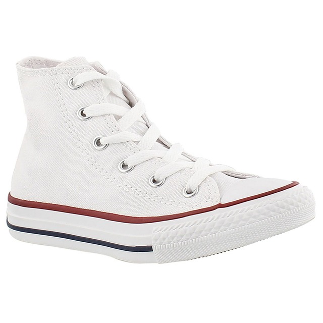 Converse Youth Chuck Taylor High Top Optical White