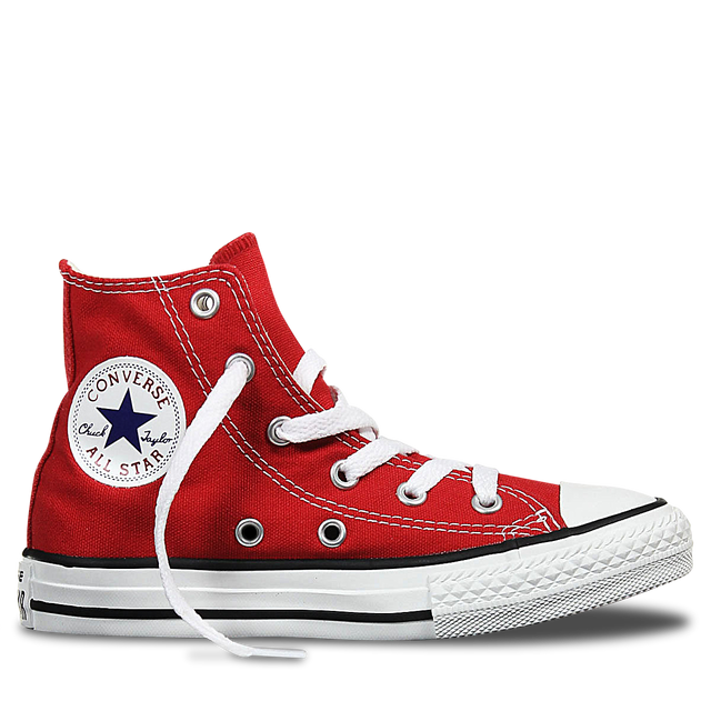 Converse Youth Chuck Taylor High Top Red