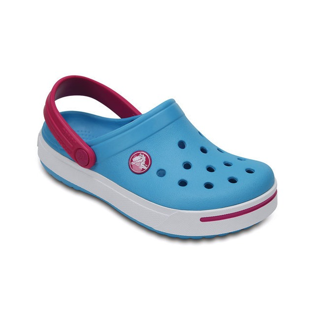 Crocs Crocband II Electric Blue/ Candy Pink