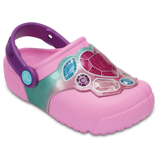 Crocs Fun Lab Lights Gems/ Carnation