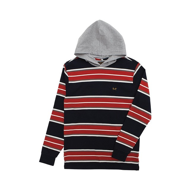 Dark Seas Mckinley Hooded Navy