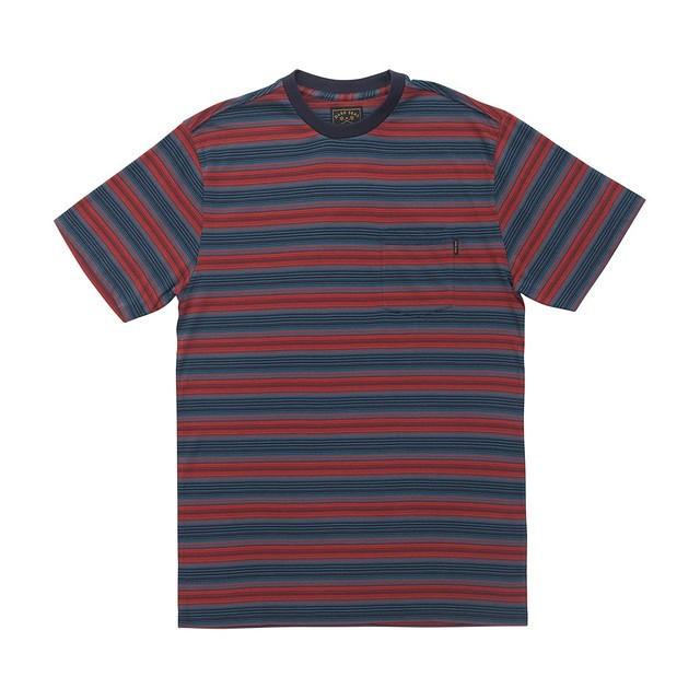 Dark Seas Zuma Knit Blue/Red
