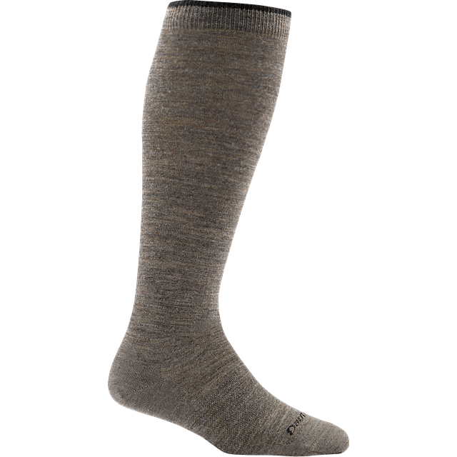 Darn Tough Solid Knee High Light Taupe
