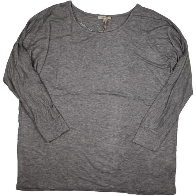 Mystree Dolman Basic Knit Heathered Grey