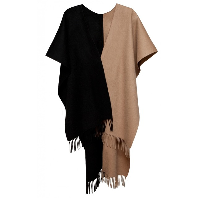 Donni Charm Donni Hero Cape Camel/ Black