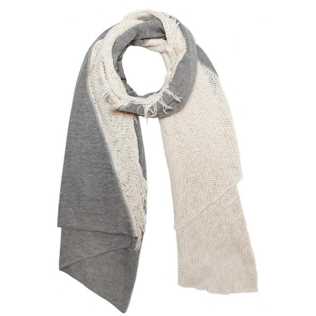 Donni Charm Donni Knit Diagonal Creme/Heather Grey