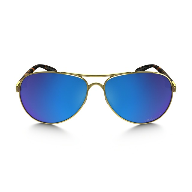 Feedback - Polished Gold/ Saphire Iridium Polarized