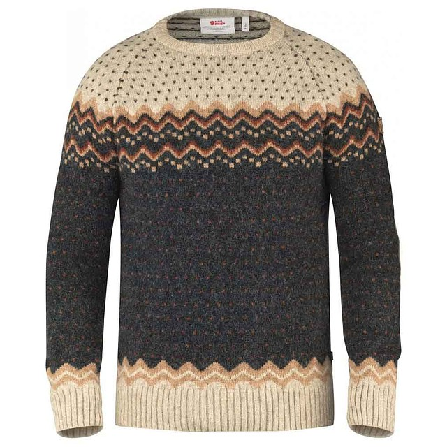 Fjall Raven Ovik Knit Dark Grey