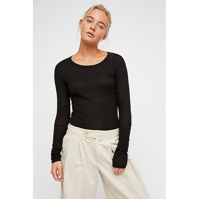 Free People Boundary Layering Black
