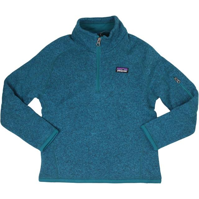 Patagonia G Better Sweater 1/4 Zip Elwha Blue