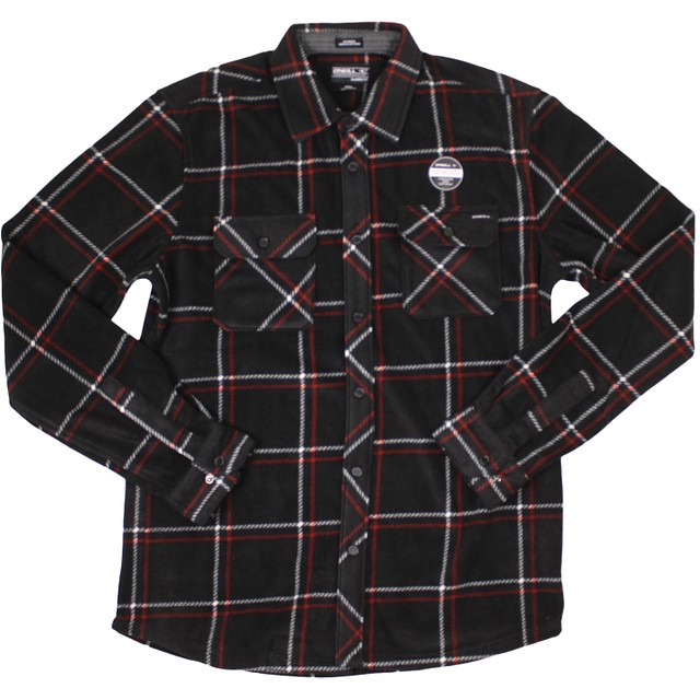 O'Neill Glacier Series Two Black Plaid
