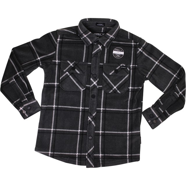 O'Neill Glacier Series Two Grey Plaid