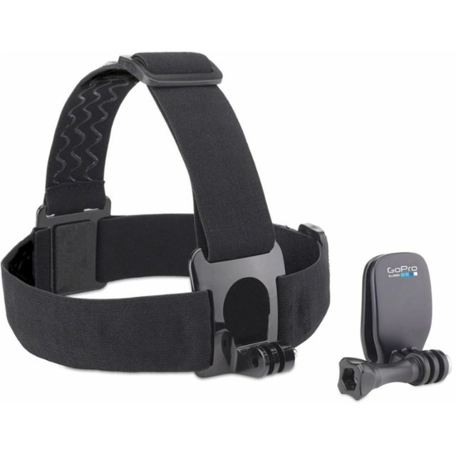 GoPro Head Strap + Quickclip Black