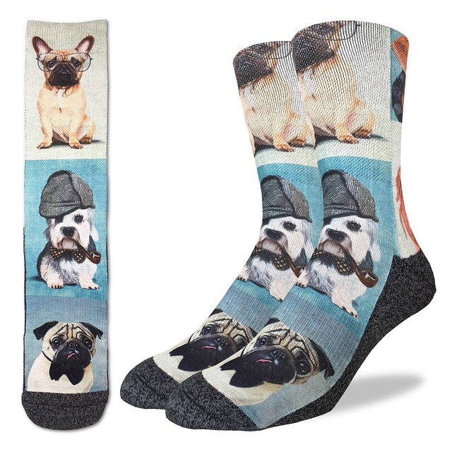 Good Luck Socks Dashing Dogs
