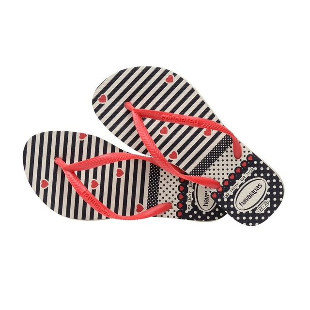 Havaianas K Slim Fashion White/Red