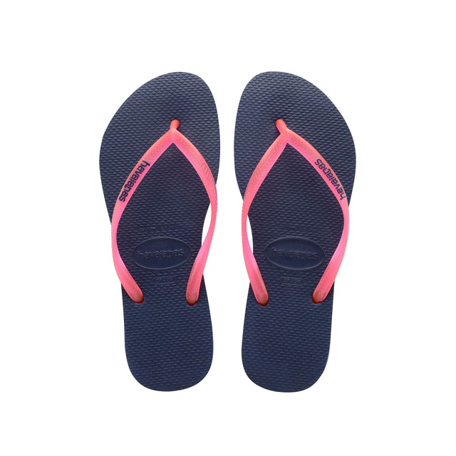 Havaianas K Slim Logo Pop Up Navy Blue