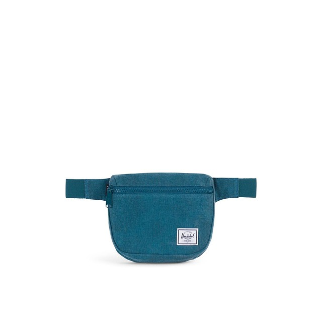 Herschel Fifteen Hip Pack Deep Teal - Flight Satin Collection