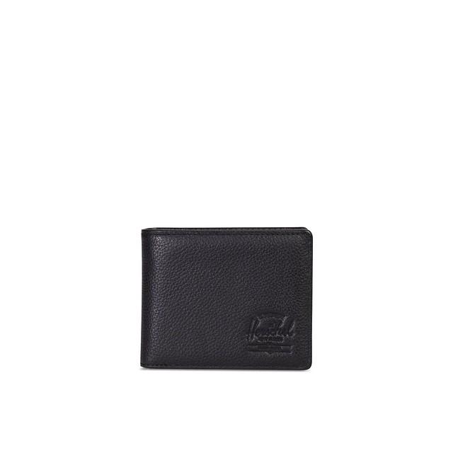 Herschel Hank Coin Black Pebbled Leather
