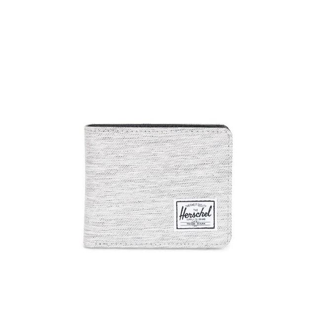 Herschel Hank+ Coin Light Grey Crosshatch