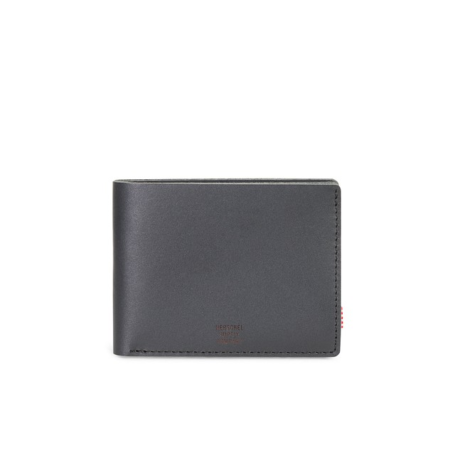 Herschel Miles Premium Black Leather