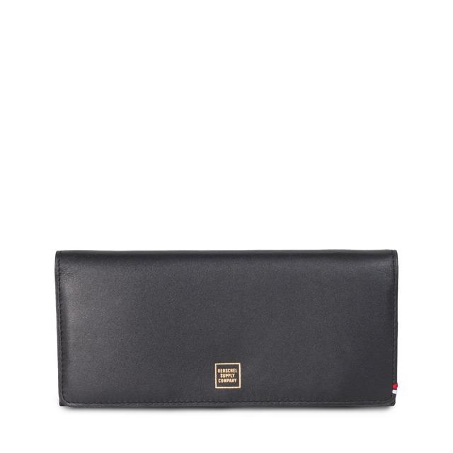 Herschel Olympic + Leather Napa Black