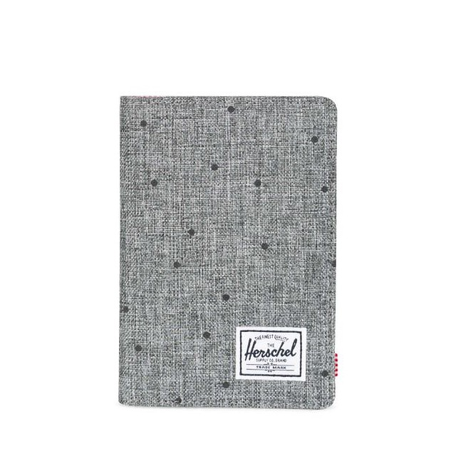 Herschel Raynor Passport Scattered Raven Crosshatch