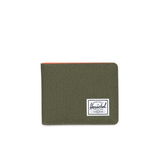 Herschel Roy+ RFID Blocking Forest Night/ Vermillion Orange