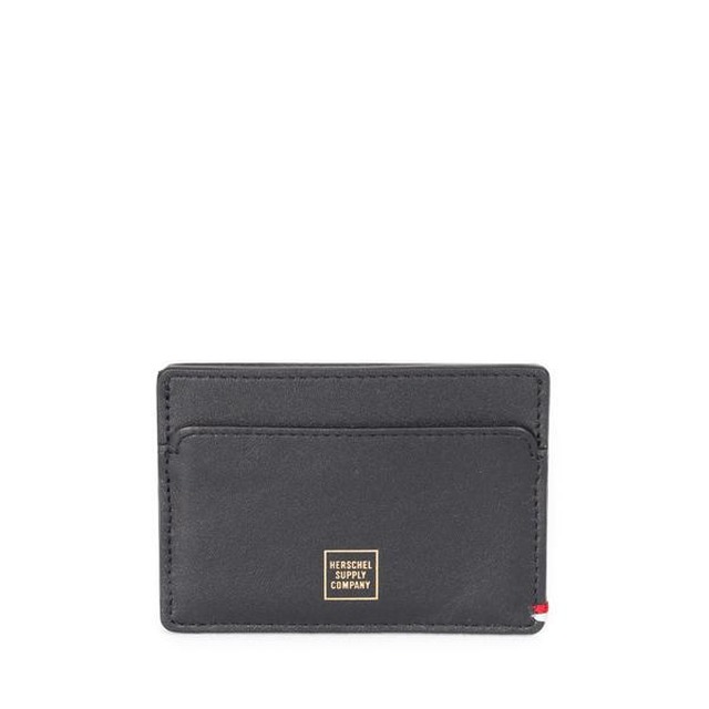 Herschel Slip+ Leather Napa Black