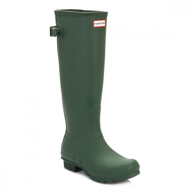 Hunter W Original Back Adjustable Tall Hunter Green