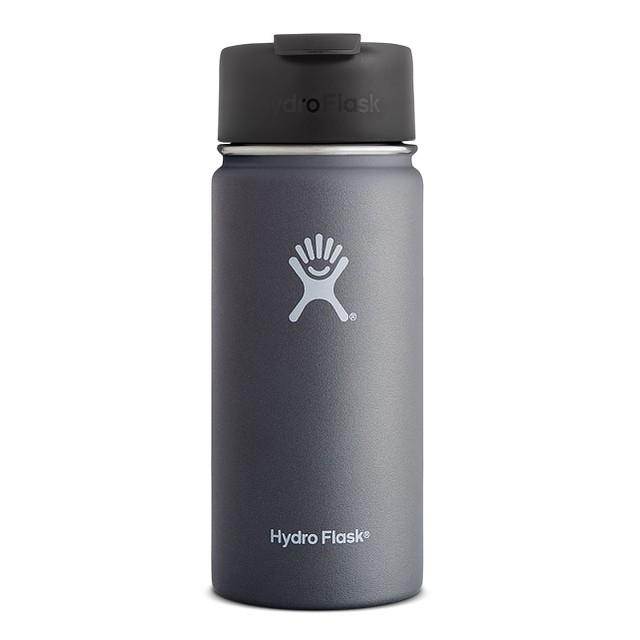 Hydro flask Wide Mouth w/ Hydro Flip Graphite 16oz