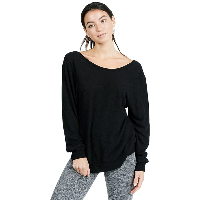 Joah Brown Get It Pullover Black