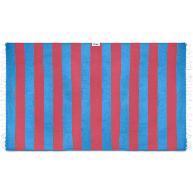 Leus Towels Turkish Stripes- Blue