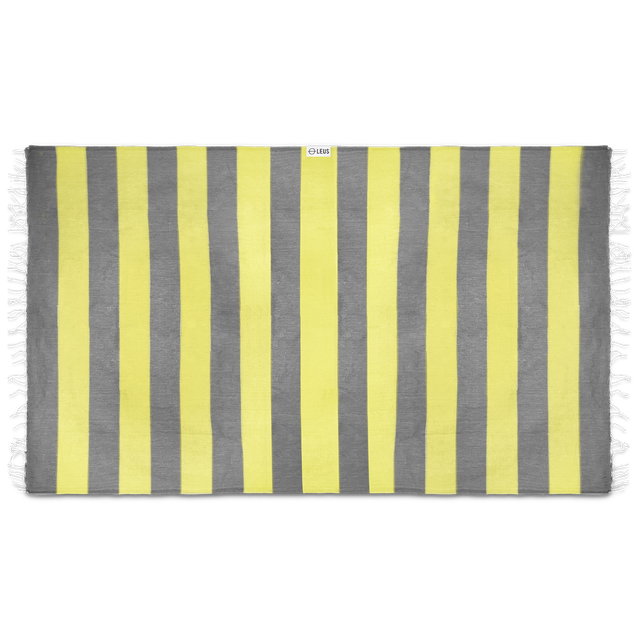 Leus Towels Turkish Stripes- Yellow